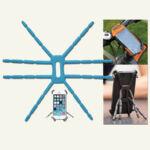 Telefon és tablet állvány (Breffo Spiderpodium) lila