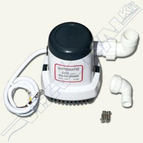 12 Voltos önműködő fenékvíz szivattyú, 600 GPH/2700 l/h , 4A