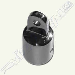 Bimini csővég (rozsdamentes acélból) 22 mm