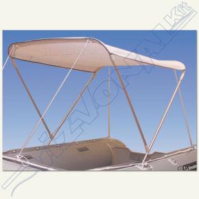Bimini tető 'V' (lehajtható napfénytető) 120-140 cm