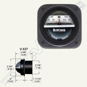Ritchie compass (V-537W) Fehér