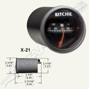 Ritchie compass (X-21BB) Fehér