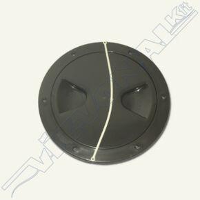 Deckfedél fekete 205 / 165 mm