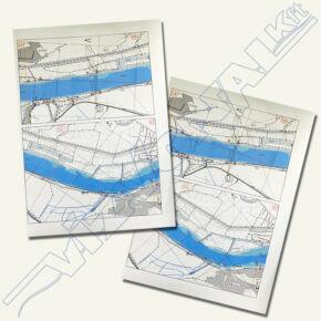 Duna hajózási térkép