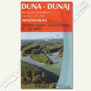 Duna vízisport térkép I (Mosoni-Duna)