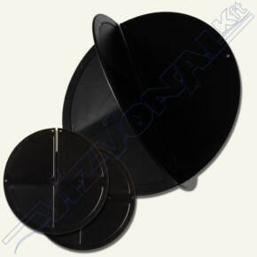 Fekete gömb 35 cm