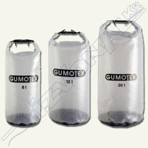 Vízhatlan zsák átlátszó (Gumotex 8-12-20l) 12 literes