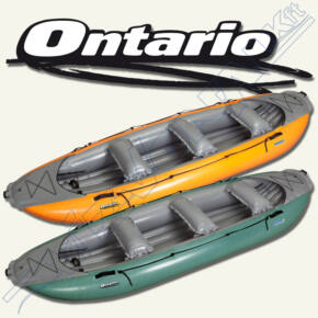 Gumotex felfújható raftcsónak (Ontario 450 S)