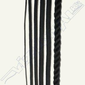 Fekete kötél 1,2 mm