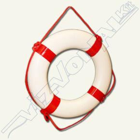 Mentőgyűrű / mentőöv, habosított 65x40 cm