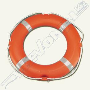 Mentőgyűrű / mentőöv, polietilén 65x40 cm