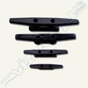 Műanyag kikötőbika (Fekete) 165 mm