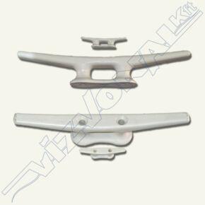 Műanyag kikötőbika (Fehér) 60 mm