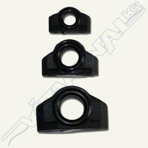 Műanyag kötélvezető (özni) 9 mm