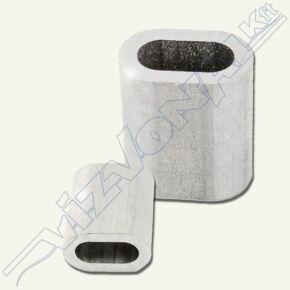 Nipli (sodronyrögzítő) 4 mm rozsdamentes