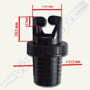 Pumpa adapter, bajonett