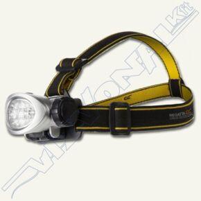 Fejlámpa, 10 LED-es  (Regatta), kb 12 óráig, 3db AAA(nem tartozék)