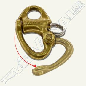 Réz patent sekli, fix, 50 mm , 11 mm