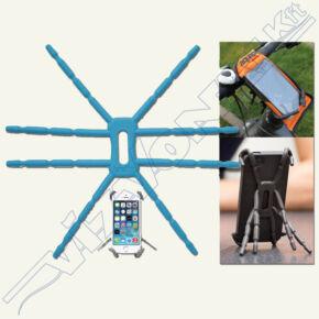 Telefon és tablet állvány (Breffo Spiderpodium) grafit