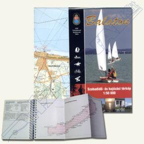 Balaton szabadidő- és hajózási térkép