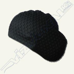 Frizurakímélő úszósapka (szilikon bubble) Fekete